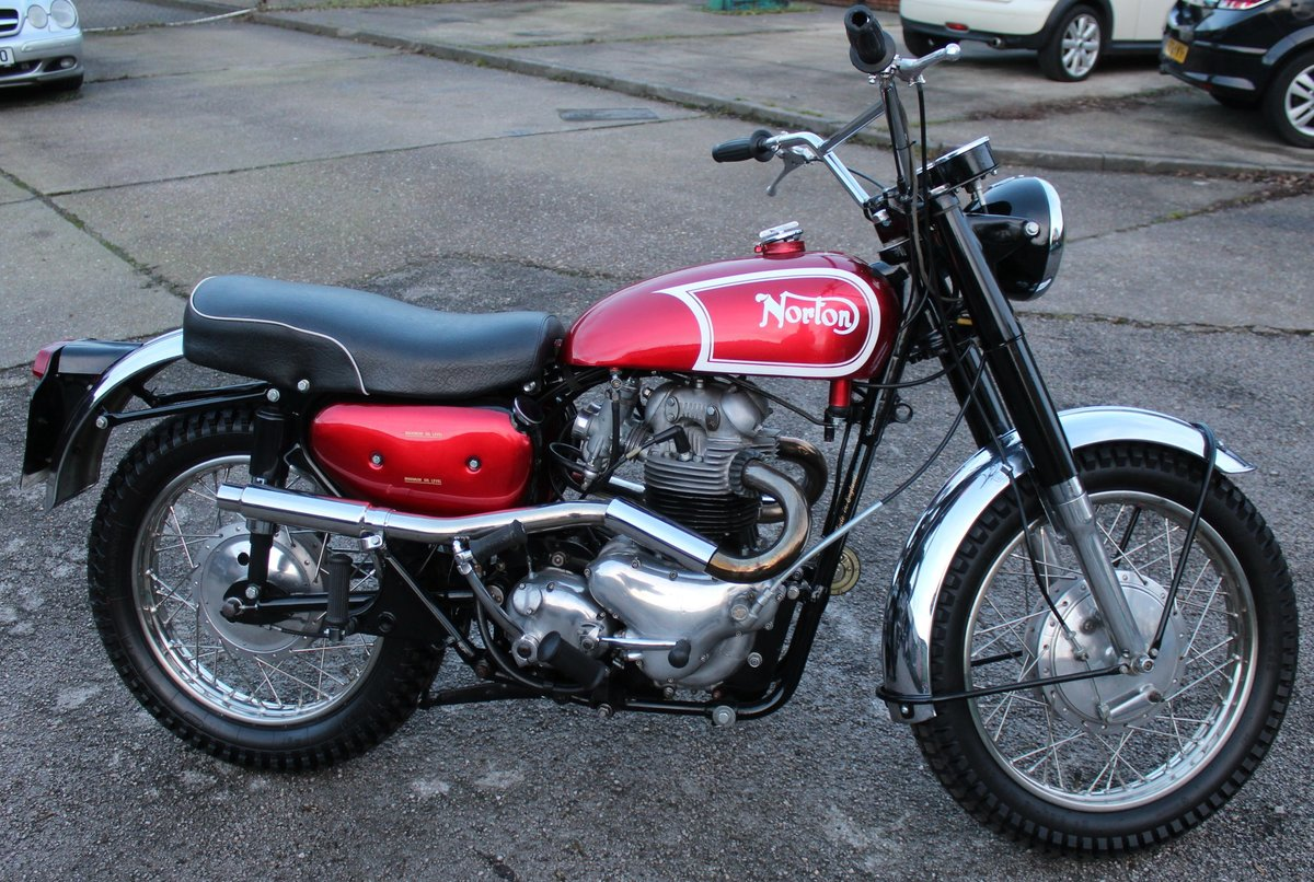 1964 Norton N15 CS  Presented as you can see in show ord For Sale (picture 7 of 24)