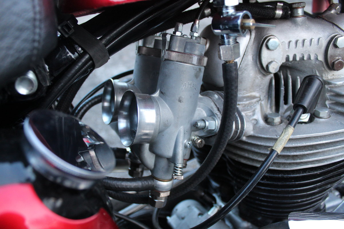 1964 Norton N15 CS  Presented as you can see in show ord For Sale (picture 16 of 24)