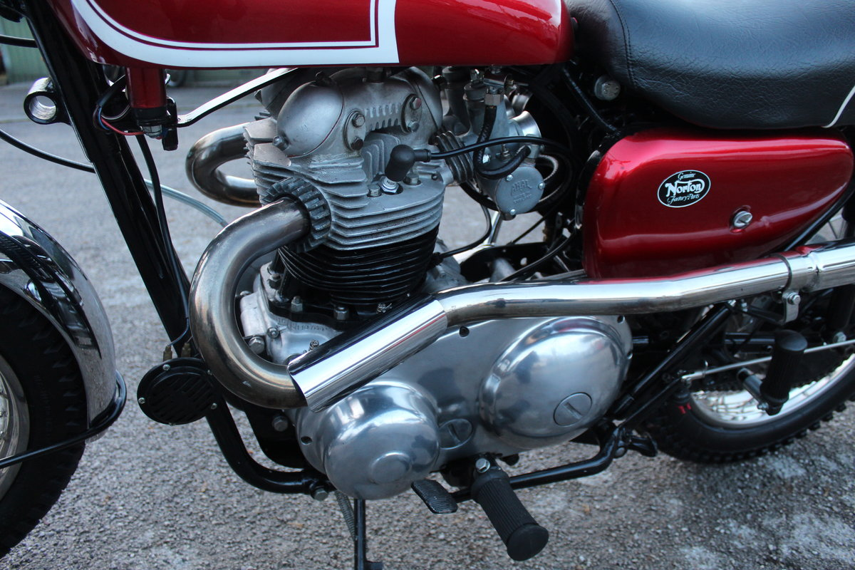 1964 Norton N15 CS  Presented as you can see in show ord For Sale (picture 22 of 24)