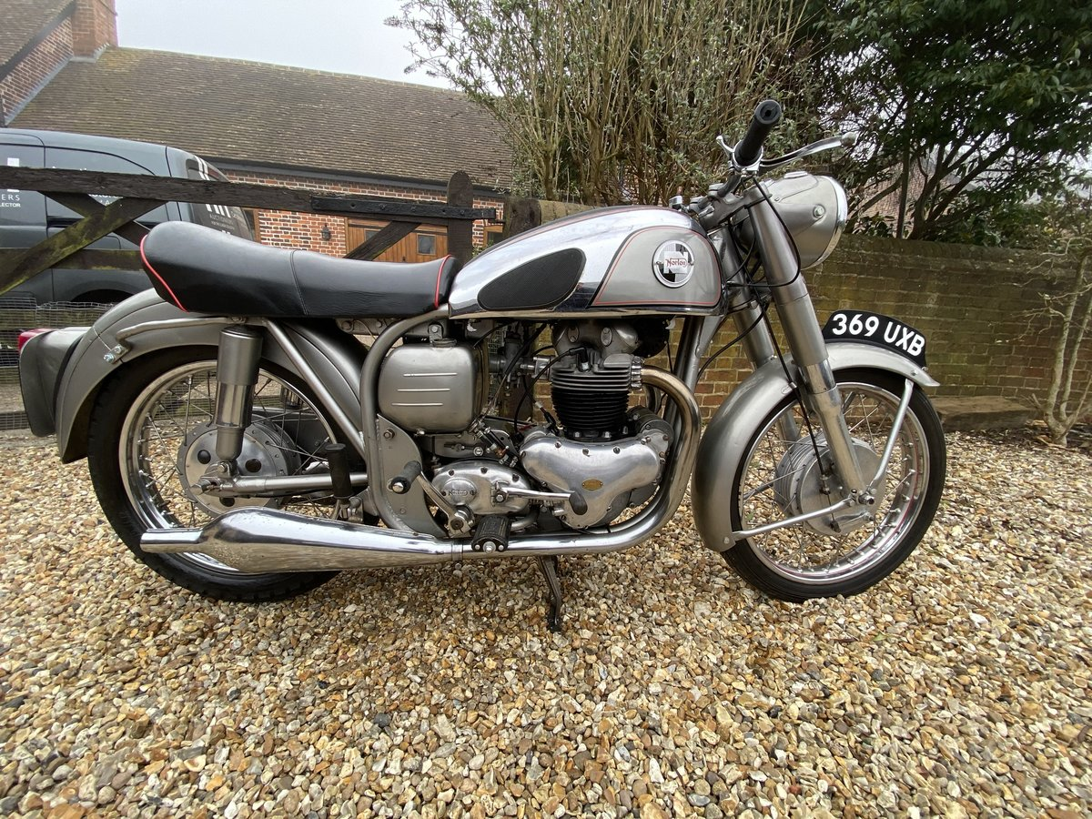 1955 Norton Dominator 99 For Sale by Auction (picture 1 of 50)