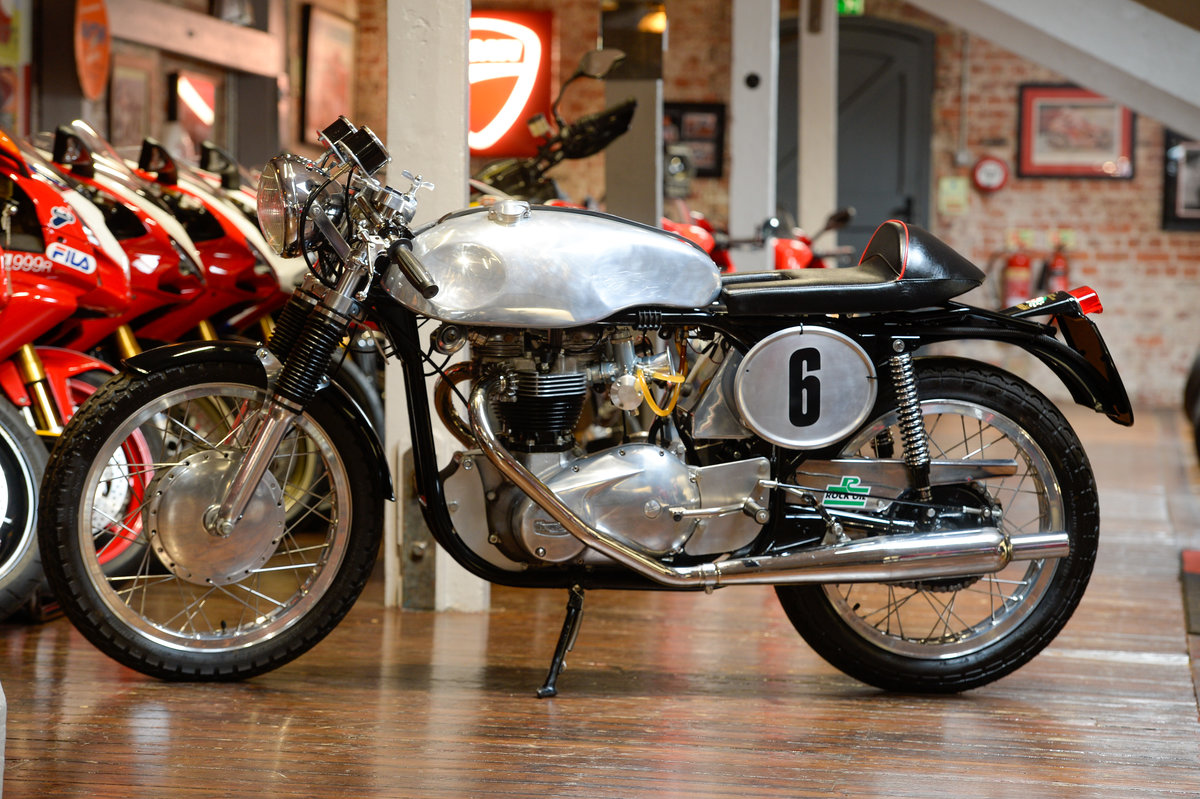 Norton Atlas Triton Fully Restored 1967 Example For Sale (picture 2 of 12)