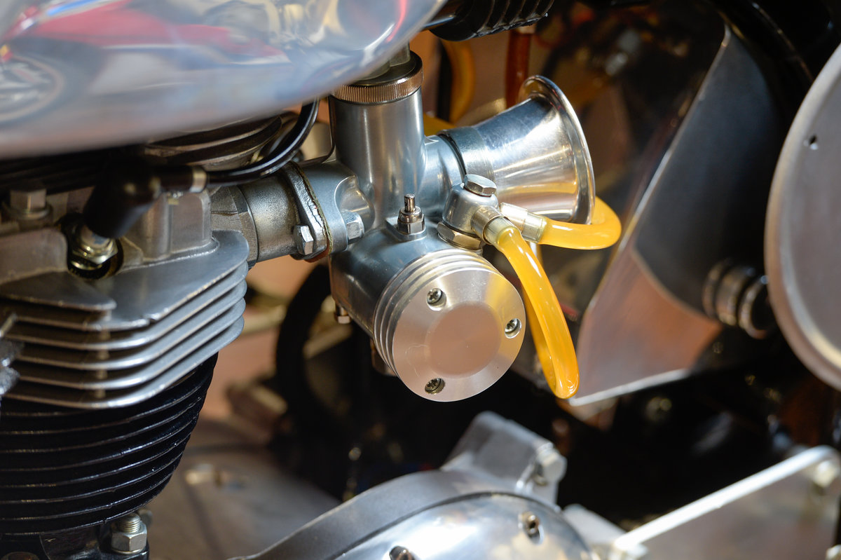 Norton Atlas Triton Fully Restored 1967 Example For Sale (picture 11 of 12)
