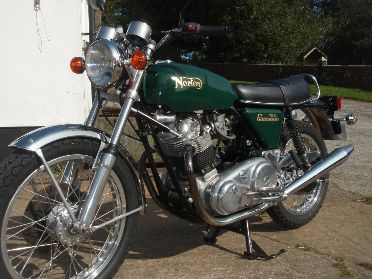 A 1973 Norton Commando  - 30/06/2021 For Sale by Auction (picture 1 of 4)