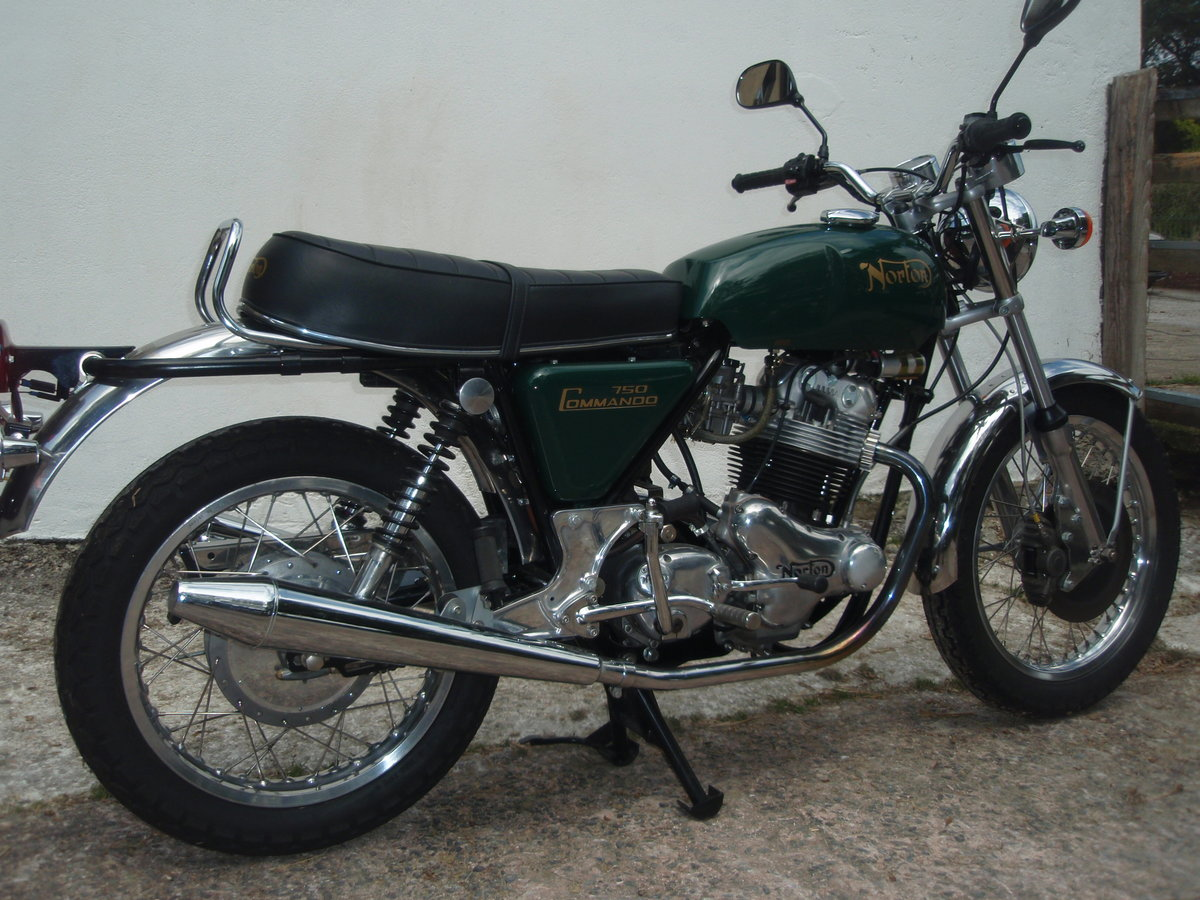 A 1973 Norton Commando  - 30/06/2021 For Sale by Auction (picture 2 of 4)