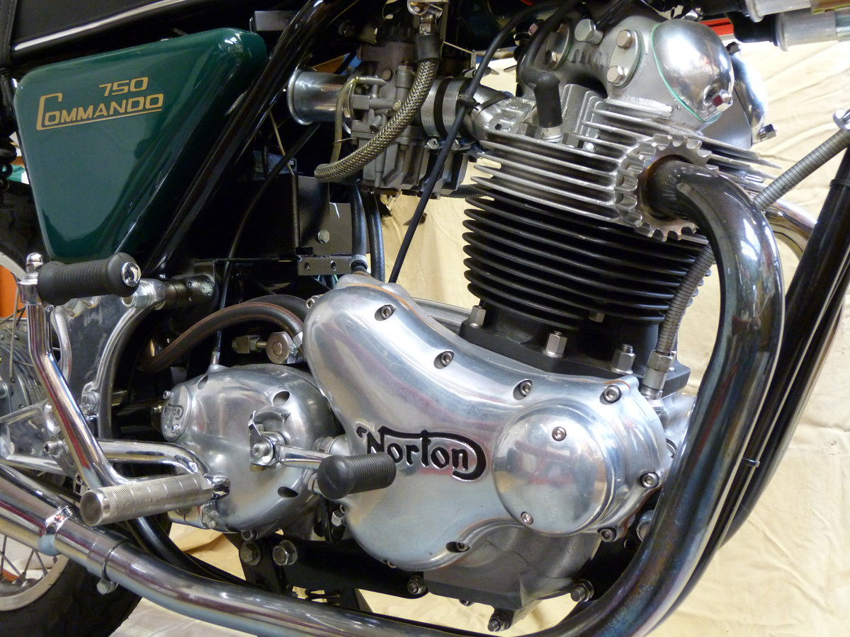 A 1973 Norton Commando  - 30/06/2021 For Sale by Auction (picture 4 of 4)