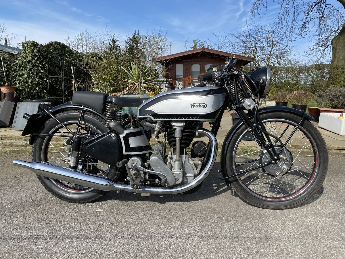 1939 Norton International 500cc For Sale by Auction (picture 1 of 50)