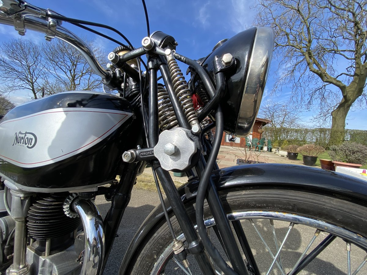 1939 Norton International 500cc For Sale by Auction (picture 6 of 50)