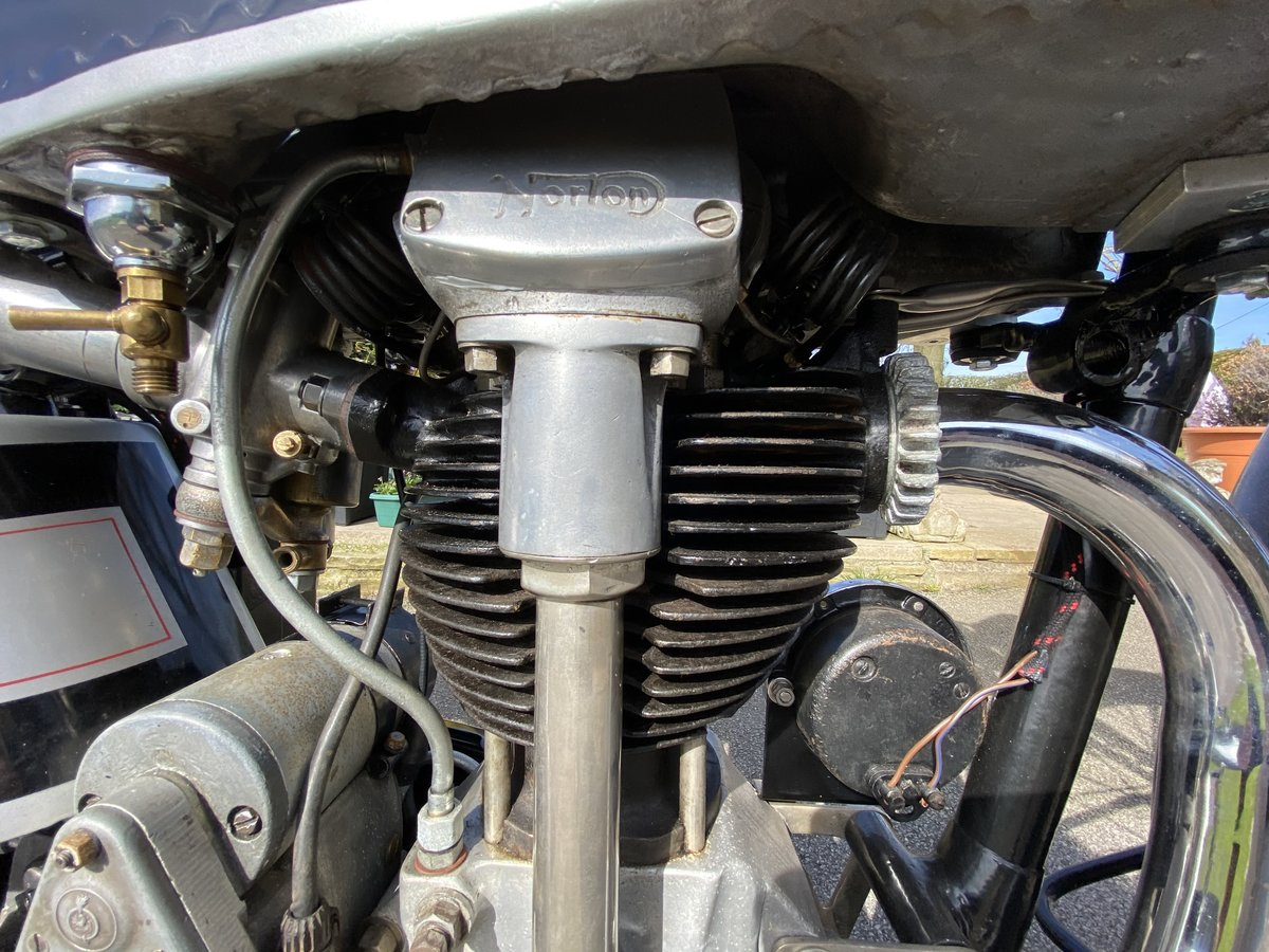 1939 Norton International 500cc For Sale by Auction (picture 13 of 50)