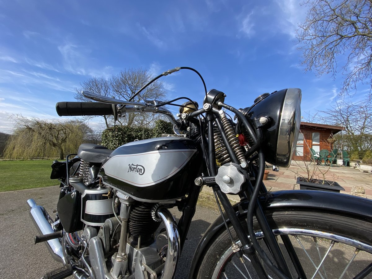 1939 Norton International 500cc For Sale by Auction (picture 17 of 50)