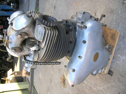 1955 norton dominator engine For Sale (picture 1 of 4)