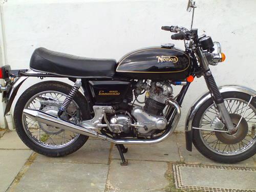 1975 NORTON COMMANDO INTERSTATE 850 MK2A SOLD (picture 1 of 6)