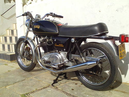 1975 NORTON COMMANDO INTERSTATE 850 MK2A SOLD (picture 4 of 5)