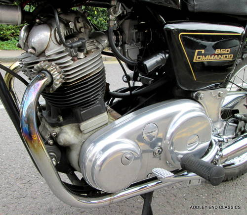 1975 NORTON COMMANDO INTERSTATE 850 Mk2 (NOW SOLD) SOLD (picture 4 of 6)