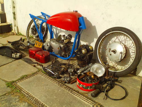 1958 TRITON NORTON CAFE RACER PROJECT SOLD (picture 3 of 4)