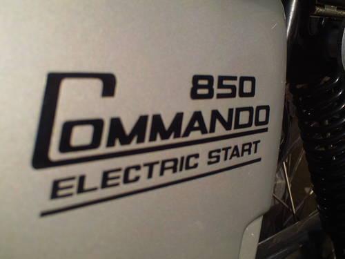 1977 NORTON COMMANDO INTERSTATE MK3 SOLD (picture 6 of 6)