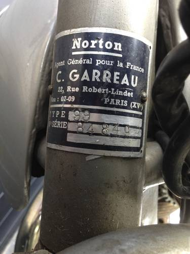 1956 Norton - Model 99  original paint For Sale (picture 6 of 6)