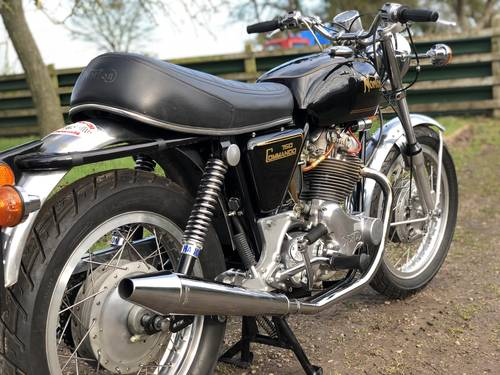 9450 Norton Commando Roadster 1971 750cc With Matching Numbers SOLD (picture 4 of 6)