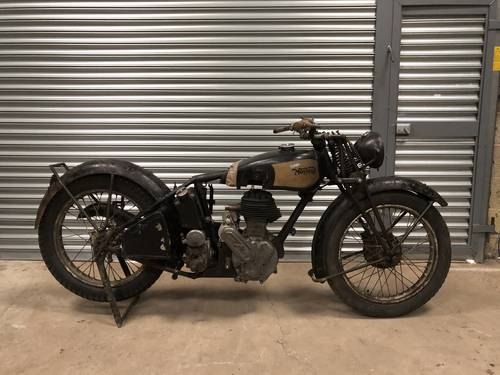 1940 Norton Ex WD 16H 500cc Rolling Project SOLD (picture 1 of 6)