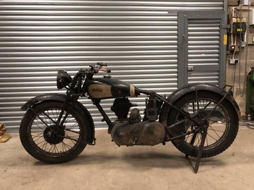1940 Norton Ex WD 16H 500cc Rolling Project SOLD (picture 2 of 6)