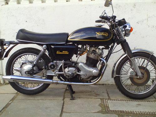 1975 NORTON COMMANDO MK2A INTERSTATE SOLD (picture 1 of 6)