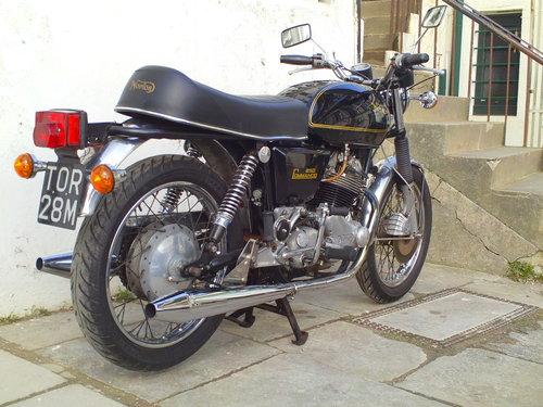 1975 NORTON COMMANDO MK2A INTERSTATE SOLD (picture 2 of 6)