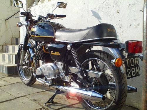 1975 NORTON COMMANDO MK2A INTERSTATE SOLD (picture 4 of 6)