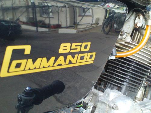 1975 NORTON COMMANDO MK2A INTERSTATE SOLD (picture 6 of 6)