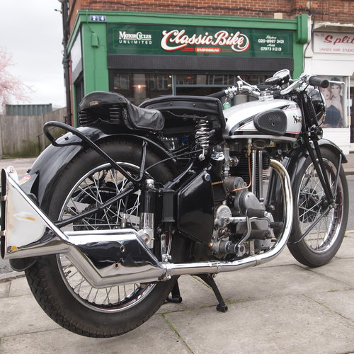 1948 ES2 500 With Garden Gate Girder Forks. SOLD SOLD (picture 1 of 6)