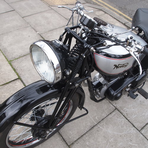 1948 ES2 500 With Garden Gate Girder Forks. SOLD SOLD (picture 3 of 6)