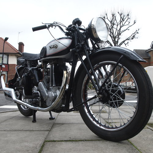 1948 ES2 500 With Garden Gate Girder Forks. SOLD SOLD (picture 5 of 6)