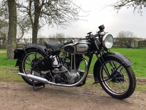 Norton ES2 1937 500, Rare, Pre-War, Girder Rigid. SOLD (picture 1 of 6)