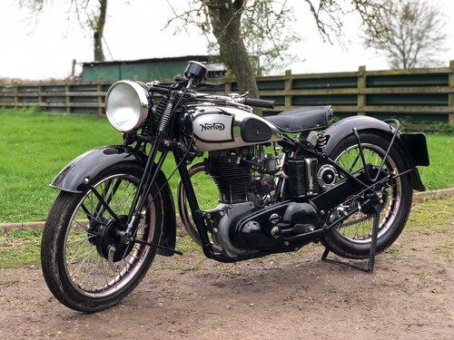 Norton ES2 1937 500, Rare, Pre-War, Girder Rigid. SOLD (picture 2 of 6)