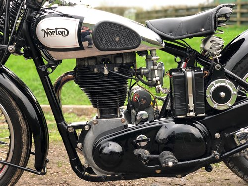 Norton ES2 1937 500, Rare, Pre-War, Girder Rigid. SOLD (picture 4 of 6)