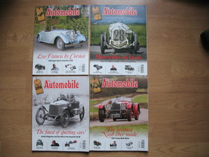 Four good Issues of 'The Automobile'
