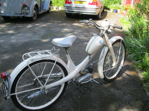 1955 NSU Quickly Model N 49cc Moped SOLD (picture 2 of 5)