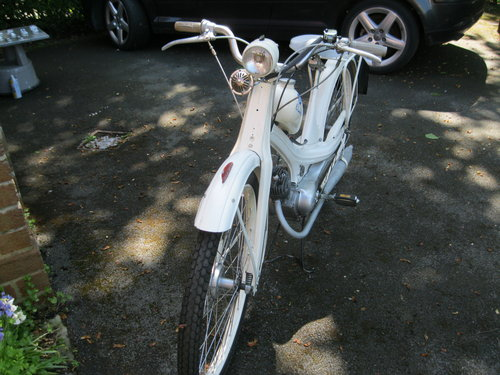 1955 NSU Quickly Model N 49cc Moped SOLD (picture 3 of 5)