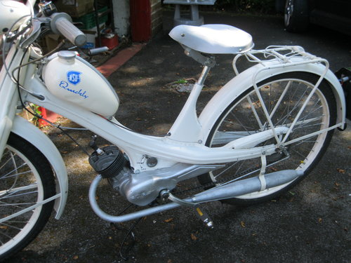 1955 NSU Quickly Model N 49cc Moped SOLD (picture 4 of 5)