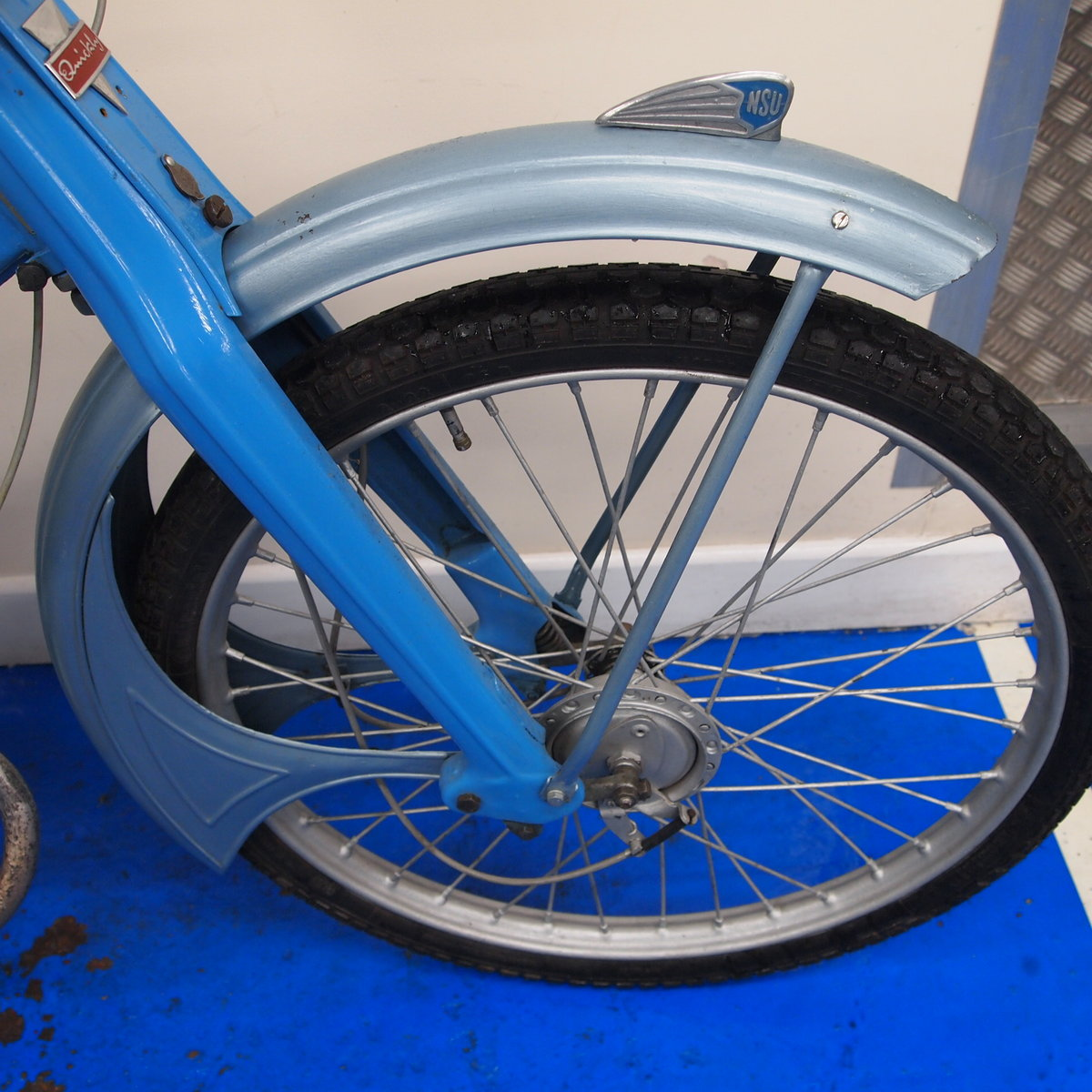 1956 NSU Quickly 50cc Classic Pedal Moped, SOLD. SOLD (picture 5 of 6)
