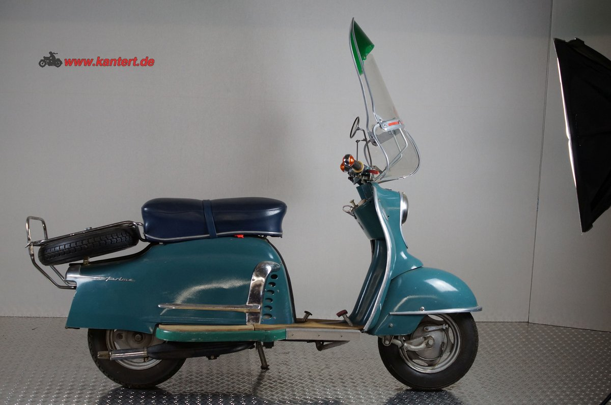1959 NSU Prima 150, 146 cc, 7 hp, 21000 km For Sale (picture 1 of 6)
