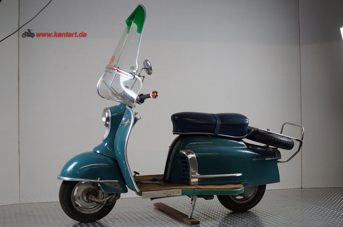 1959 NSU Prima 150, 146 cc, 7 hp, 21000 km For Sale (picture 2 of 6)