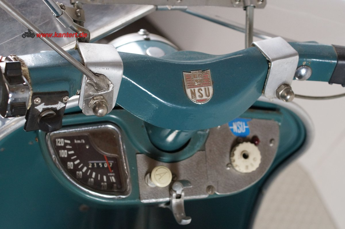 1959 NSU Prima 150, 146 cc, 7 hp, 21000 km For Sale (picture 5 of 6)