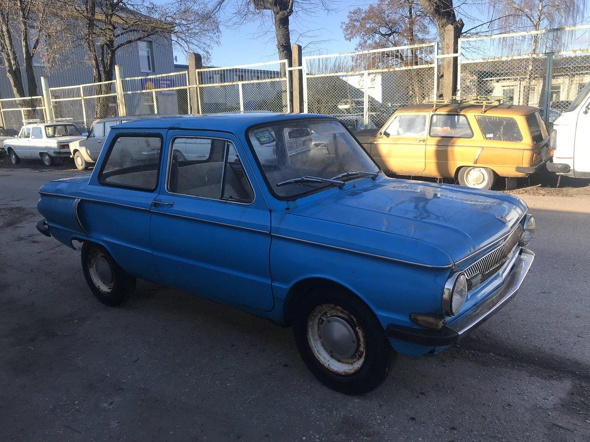 1970 NSU copy ZAZ Sapo 966 good full body For Sale (picture 1 of 6)