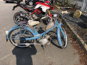 1932 1962 NUS Quickly Moped