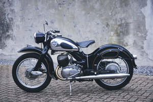 1956 nsu superlux 200cc - matching number For Sale