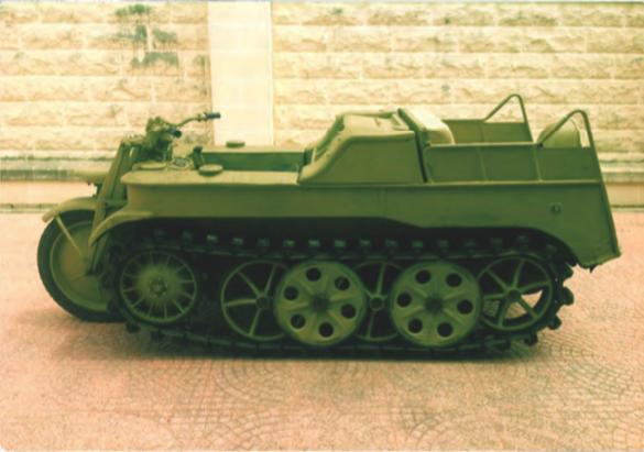 1944 KETTENKRAD HK101 German  - restored For Sale (picture 1 of 4)