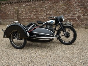 1952 NSU Konsul 1 Sidecar For Sale