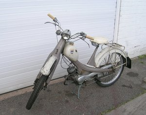 1962 NSU N23 Quickly Vinatge Motorcycle  For Sale