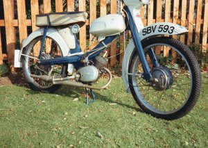 1963 NSU Quickly Moped
