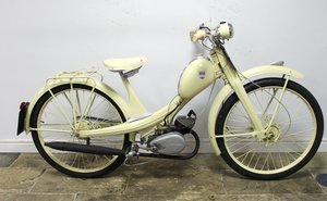 1957 NSU Quickly 50cc Moped Presented in Restored Condition SOLD