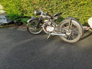 1953 NSU Fox motorcycle Rare   For Sale